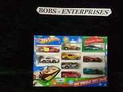 Hot Wheels Exclusive Deco 2013 Holiday Christmas 9-pack Set - Toys R Us Ex-x1