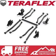 Teraflex Alpine Adjustable Long Arms And Bracket For And03918-and03921 Jeep Wrangler Jl 2 Dr