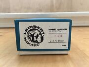Lambert Associates Ho Scale C And O Diner 824 Made In Japan New In Box