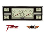 1940 40 Ford Nostalgia Style 6-in-1 Gauge Cluster Classic Instruments Fc40nt