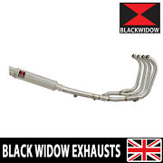 Gsx1400 01 - 08 Full Exhaust System 4-1 + Gp Stainless Steel Silencer Sg35r