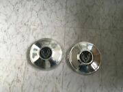 1970and039s Or 80and039s Pontiac Firebird Passenger Car Dog Dish Hubcaps Only 2 10 1/4andrdquo