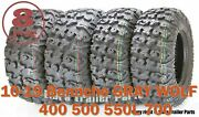 Free Country Atv Tires 25x8-12 25x10-12 10-19 Bennche Gray Wolf 400 500 550l 700