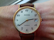 Festina Hand-winding Rnbc Vintage Collection Swiss Made Watch Nos Montre 60 Andacute S
