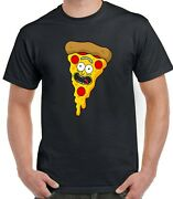 Rick And Morty Funny Pizza T-shirt Gift