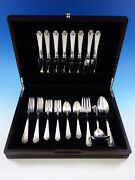 Saint George By Reed And Barton Sterling Silver Flatware Set For 8 Service 36 Pcs