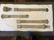 65 66 Ford Deluxe Mustang Comet Falcon Seat Belts Original Fomoco Matching