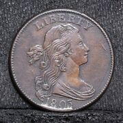1803 Large Cent - Small Date Small Fraction - Xf Details 28602