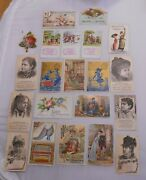 Victorian Trade Cards Lot Sewing Machines White Household Others Bangor Maine 21