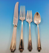 King Albert By Whiting Sterling Silver Flatware Set For 12 Service 48 Pieces