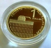 Australia 2012 1 Proof Coin Fields Of Gold Wheat Encapsulated