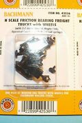 Bachmann 42536 N Scale Friction Trucks W/ Axles And Z-mate Knuckle Couplers 2