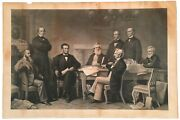 Print Of Abraham Lincoln Reading The Emancipation Proclamation To His Cabinet