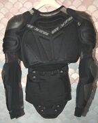 Dainese Vintage Light Wave Menand039s Body Armor Jacket Black Great Condition