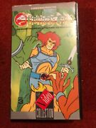 Thundercats Vhs The Ghost Warrior And Return To Thundera Vol 3 Vintage 1987