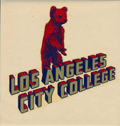 Los Angeles City College Very Rare Original 1940s Decal Junior Lacc Cubs Ucla