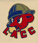 Los Angeles City College _super Rare_ 1940and039s Decal Vtg Lacc Cubs Football Ucla