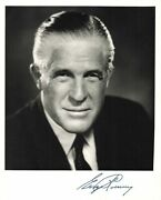 1969 Signed Letter And Photo George Romney Republican Morman Mitt Autograph