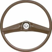 Oer Reproduction Saddle Steering Wheel 1969-1972 Chevrolet And Gmc Pickup Truck