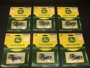 Athearn Ho 1/87 John Deere Ford C-series Truck Lot Of 6 8106 And 8104 With Error