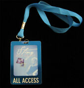 Sting Live At The Blue 5 Chicago 2003 Grant Park Laminate Lanyard Backstage Pass