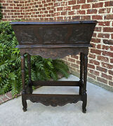 Antique French Boulangerie Bakerand039s Table Panetiere Bread Dough Sofa Table
