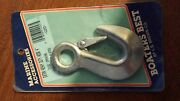 Boaters Best Extra Heavy Duty Forged/zinc Plated Hook 4 7/16 Opening 12253