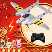 New Beginner 2.4g 2ch Electric Rc Glider Plane 120 Meters Remote Control