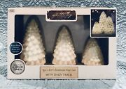 New Apothecary And Company 3 Piece Led Christmas Tree Set Daily Timer