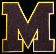 1930s Chenille Letterman Patch Chicago Pennant Company University Of Minnesota