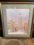 Vintage Collectable From Anni Moller -- Ibm Tower And The Biltmore Hotel In Atl