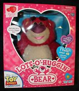Toy Story Collection Lots-oand039-hugginand039 Bear - Says 45+ Sayings With Coa