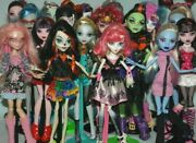 List 2 Monster High Dolls Inc Some Original Accessories - Choose From Various