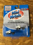 Mini Metals 1160 Scale/ N Scale Ih R-190 Undecorated White Tractor