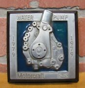 Ford Motorcraft Water Pump 1970s Promo Advertising Paperweight Auto Truck Parts