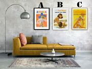 U.s.a. Vintage Airline Advertising Art Print Posters. Choice Of 3 Great Prints