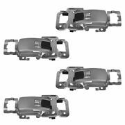Oem Door Handle Front And Rear Set Of 4 For 05-09 Chevy Equinox