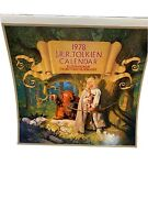 Jrr Tolkien Lord Of The Rings Vintage 1978 Calendar Art - 1st Edition