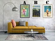 The Carribean Vintage Advertising Art Print Poster Set Choice Of 3 Great Prints