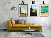 Canada Vintage Advertising Art Print Poster Set Choice Of 3 Great Prints