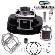 Cylinder Top End Kit Piston Rings Gaskets Spark For Yamaha Oem 2xj-11111-00-00