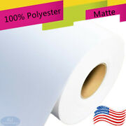 Wide-format Inkjet Printer 13172436445460x40and039 Matte Polyester Canvas Roll