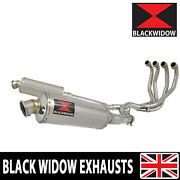Gpz 1100 95 96 97 98 99 4-2 Exhaust System 300mm Round Stainless Silencers Sn30r