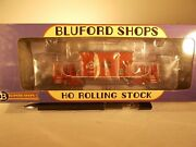 Bluford Ho Scale Alton And Southern Transfer Caboose 13937 New