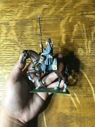 Alymer Caballeria Escala E-54mm Military Miniatures Metal Toy Soldier Pre-owned