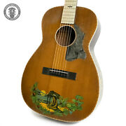 1930s Supertone Aloha Hawaiian In Natural With Decals