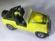 Vintage 1981 Hot Wheels 12 Jeep Cj7 Green Military Army Rare Color
