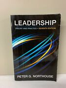 Leadership Theory And Practice By Peter G. Northouse 2015, Paperback