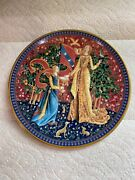 Le Gout Taste The Lady Andthe Unicorn Collection Decorative Plate Royal Worcester