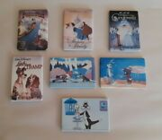 A Lot Of Seven Refrigerator Magnets Such As Disney And Warner Bros